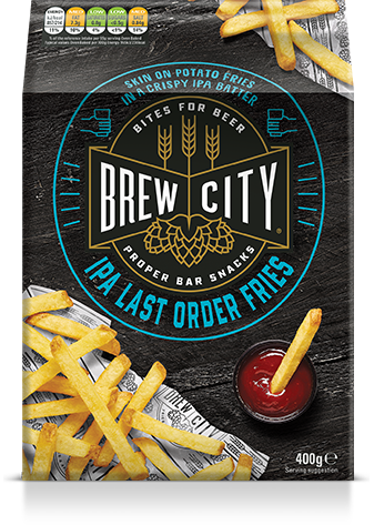 Brew city last order fries packaging